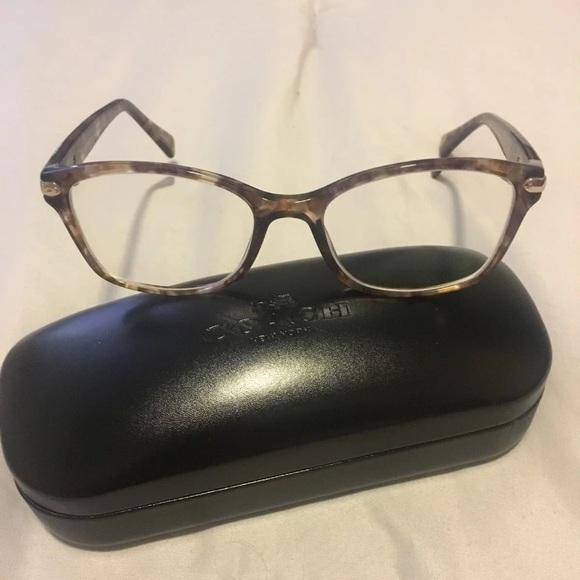 7240ead3724e shop coach confetti light brown glasses 8cde9 1d77d